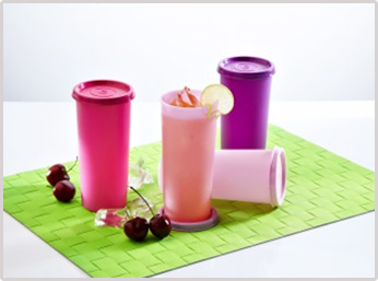 Rainbow Tumblers (set of 4), 340 ml